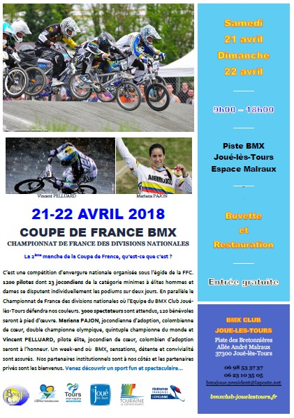 Pitch Coupe de France BMX-JMT 2018